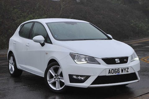 White SEAT Ibiza TSI Fr Technology 2016