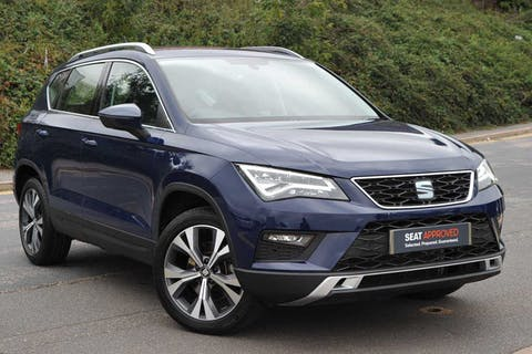 Blue SEAT Ateca TSI Ecomotive SE Technology 2017