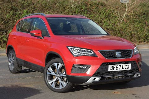 Red SEAT Ateca TSI Ecomotive SE Technology 2017