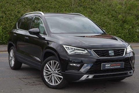Black SEAT Ateca TDI Ecomotive Xcellence 2017