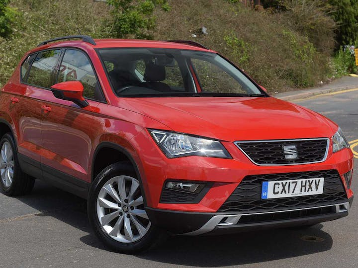 Red SEAT Ateca TSI Ecomotive SE 2017