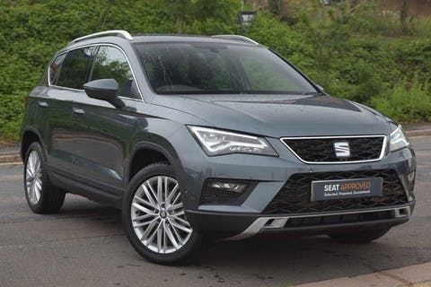 Grey SEAT Ateca TSI Evo Xcellence 2020