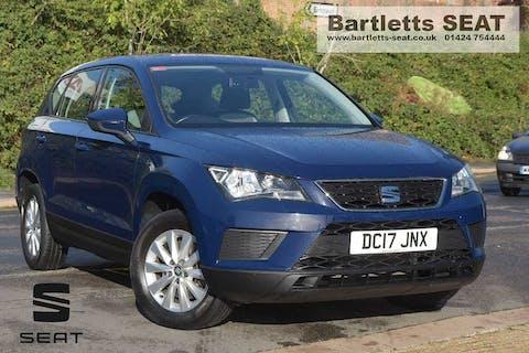 Blue SEAT Ateca TSI Ecomotive S 2017