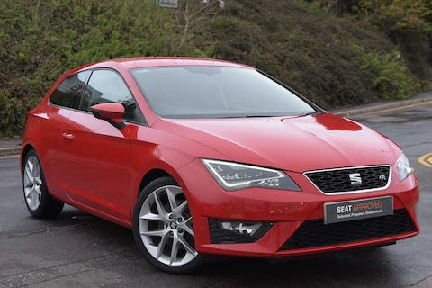 Red SEAT Leon TSI Fr Technology DSG 2015