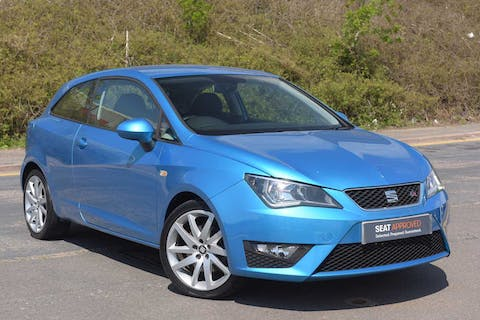 Blue SEAT Ibiza Ecotsi Fr Technology 2016
