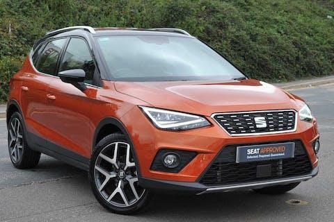 Orange SEAT Arona TSI Xcellence Lux DSG 2018