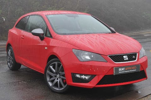 Red SEAT Ibiza TSI Act Fr Edition 2014