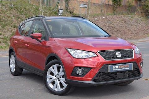 Red SEAT Arona TSI SE Technology DSG 2018