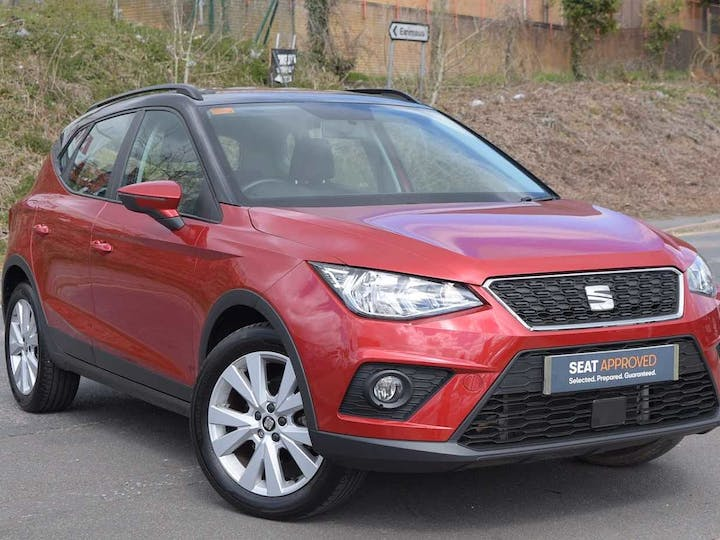 Red SEAT Arona TSI SE Technology DSG 2018