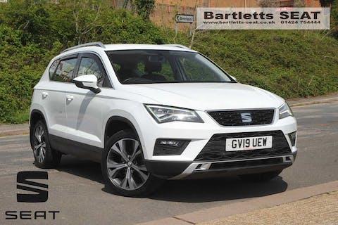White SEAT Ateca TDI SE Technology 2019