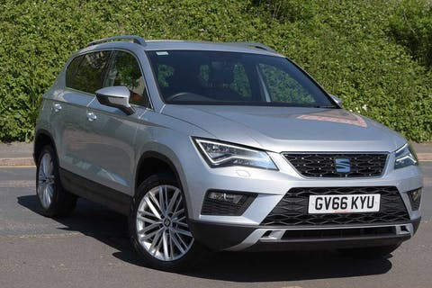Silver SEAT Ateca Ecotsi Xcellence 2017