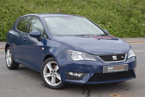 Blue SEAT Ibiza TSI Fr Technology 2017