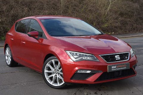 Red SEAT Leon TSI Fr Technology 2017