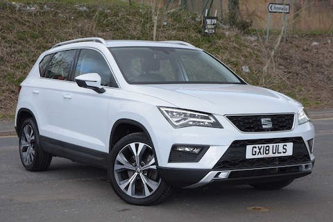 White SEAT Ateca TSI Ecomotive SE Technology 2018