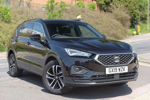 Black SEAT Tarraco TSI Evo SE First Edition 2019