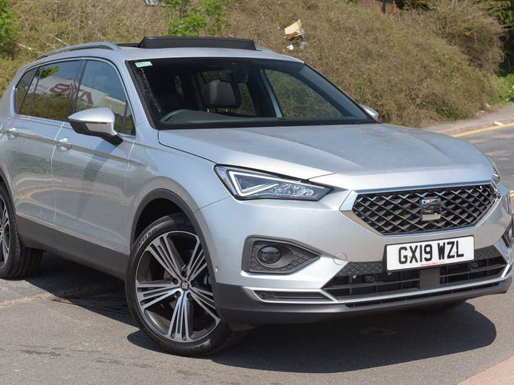 Silver SEAT Tarraco TSI 4drive Xcellence First Edition Plus DSG 2019