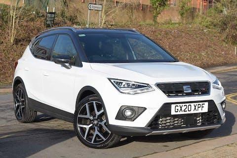 White SEAT Arona TSI Fr Sport DSG 2020