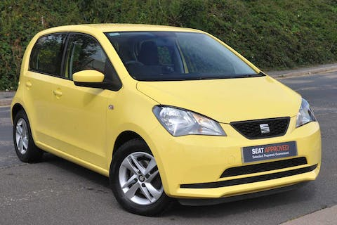 Yellow SEAT Mii SE Technology 2016
