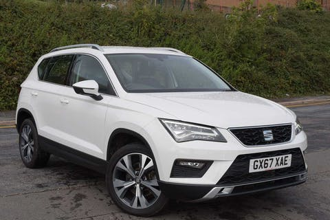 White SEAT Ateca TSI Ecomotive SE Technology 2017