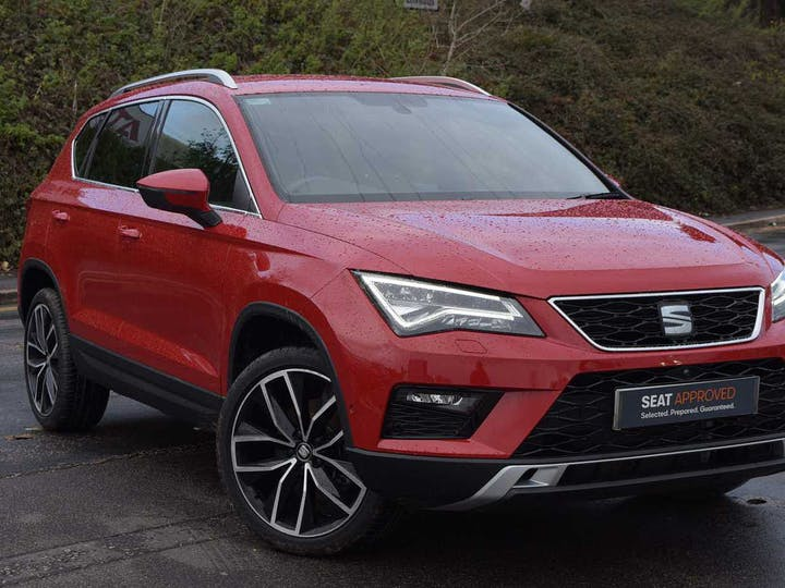 Red SEAT Ateca Ecotsi Xcellence 2019