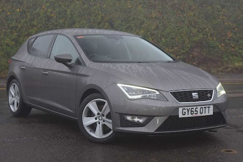 Grey SEAT Leon TDI Fr Technology 2015