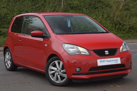 Red SEAT Mii Sport 2013