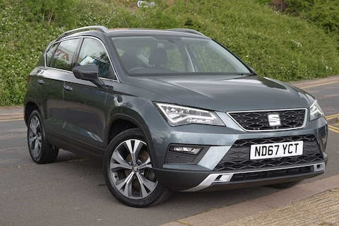 Grey SEAT Ateca TDI Ecomotive SE Technology 2018