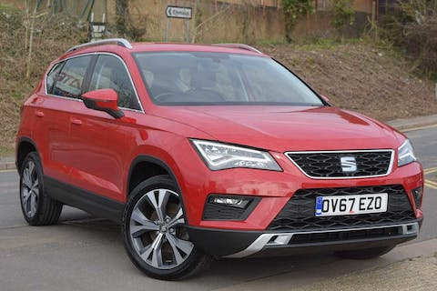 Red SEAT Ateca TDI Ecomotive SE Technology 2017