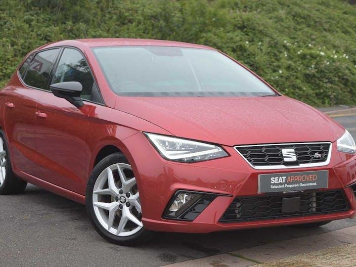 Red SEAT Ibiza TSI Fr DSG 2019