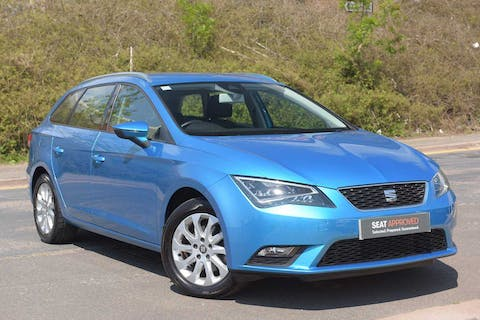 Blue SEAT Leon TDI SE Technology DSG 2015