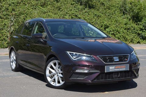 Purple SEAT Leon TDI Fr Technology 2017