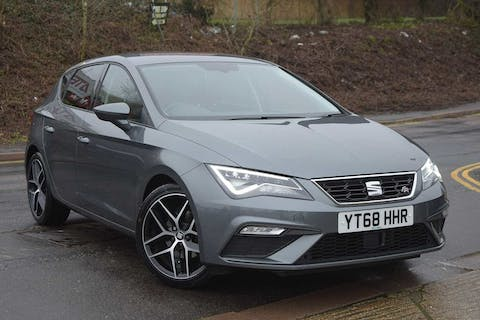 Grey SEAT Leon TSI Fr Technology 2018