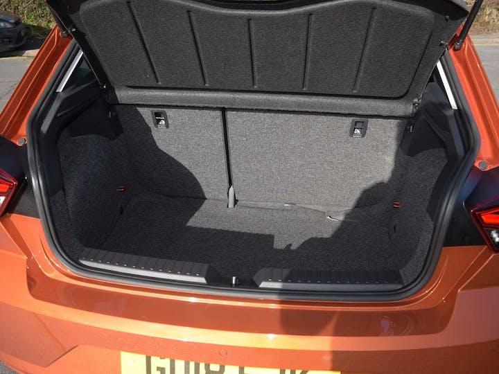 Orange SEAT Ibiza TSI Fr 2018