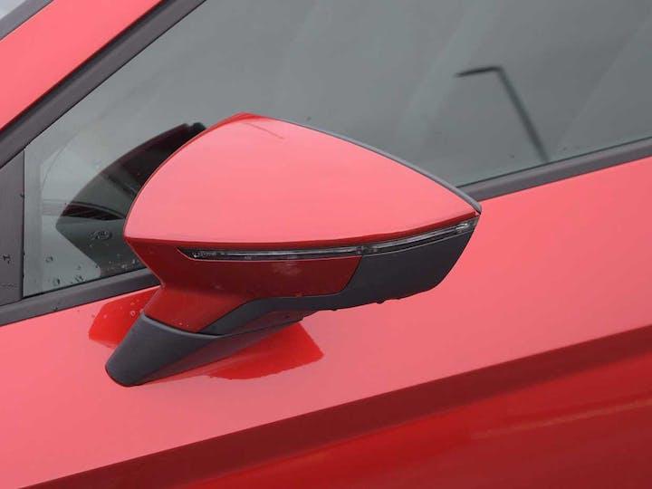 Red SEAT Leon TSI Evo Fr 2018