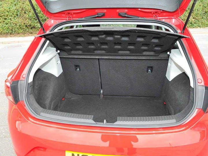 Red SEAT Leon TSI SE Technology 2016