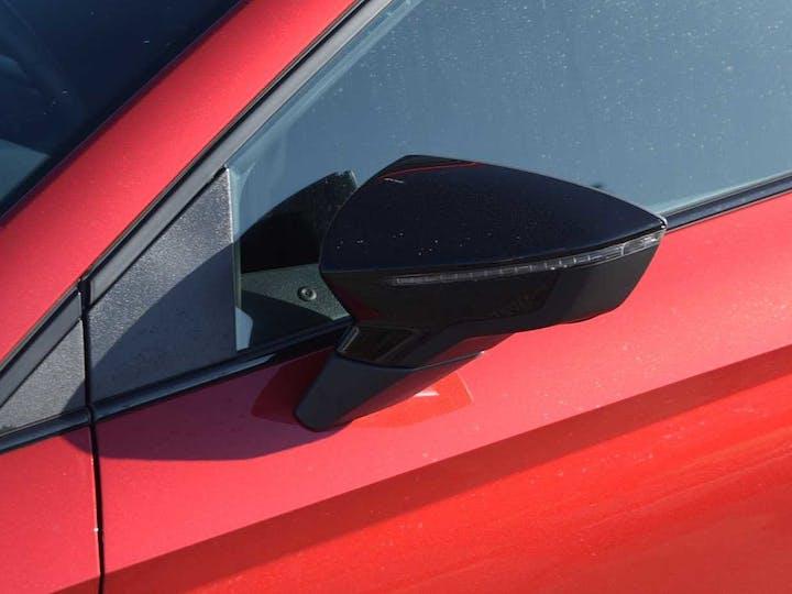 Red SEAT Ibiza TSI Fr 2017