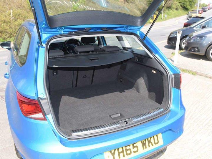 Blue SEAT Leon TDI SE Technology DSG 2015