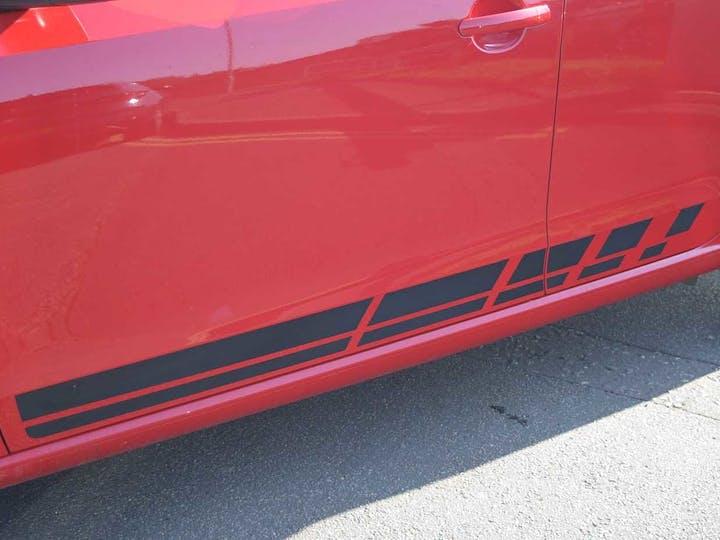 Red SEAT Mii Fr-line 2016