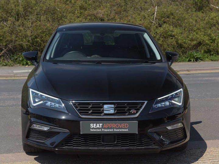 Black SEAT Leon TSI Fr Technology 2018