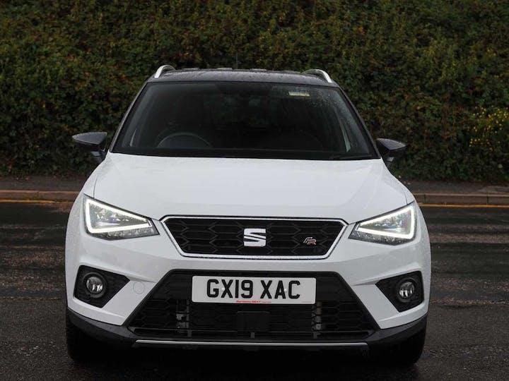 White SEAT Arona TSI Fr Sport 2019
