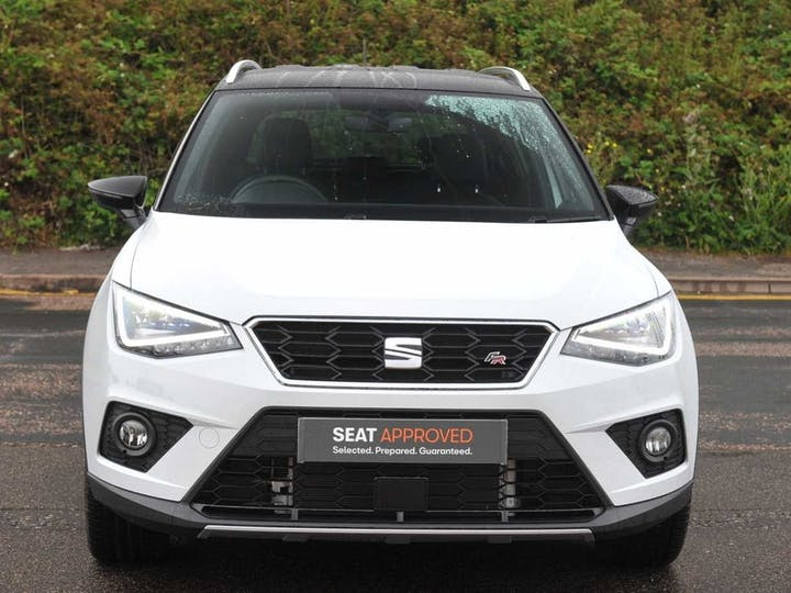 White SEAT Arona TSI Fr Sport DSG 2018