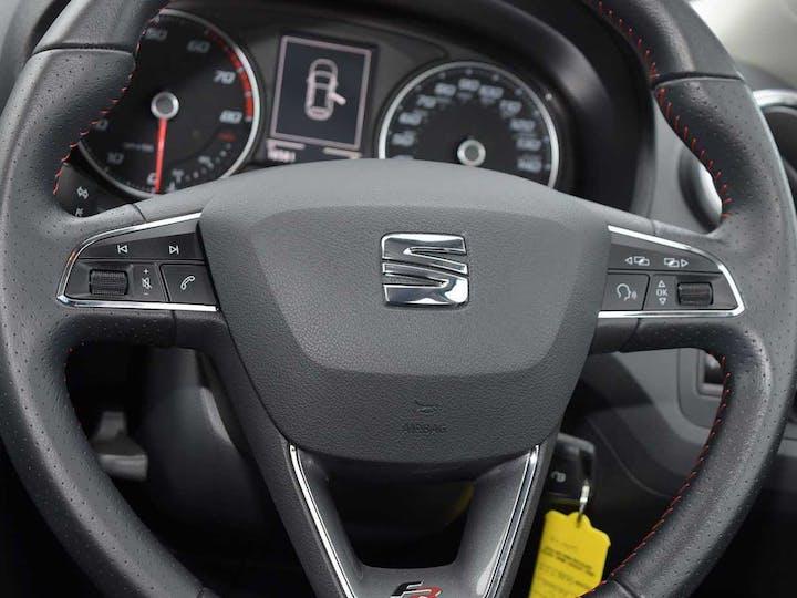 White SEAT Ibiza TSI Fr Technology 2016