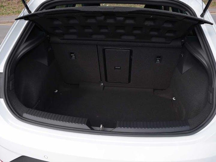 White SEAT Leon TSI Cupra DSG 2020
