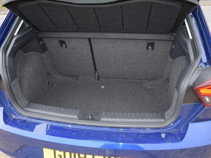 Blue SEAT Ibiza TSI Fr 2018