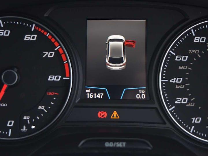 Red SEAT Leon Ecotsi Xcellence Technology DSG 2018