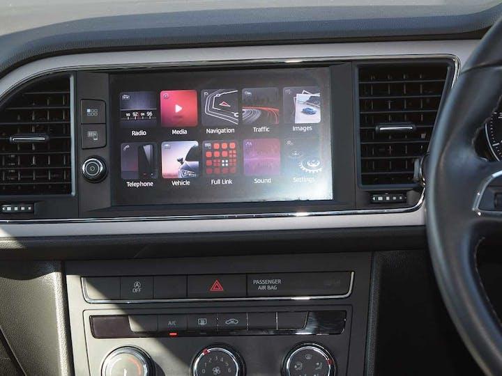 Blue SEAT Leon TSI SE Dynamic Technology 2018
