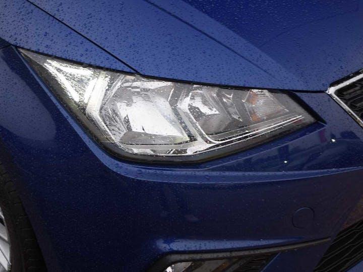 Blue SEAT Ibiza TSI SE 2017