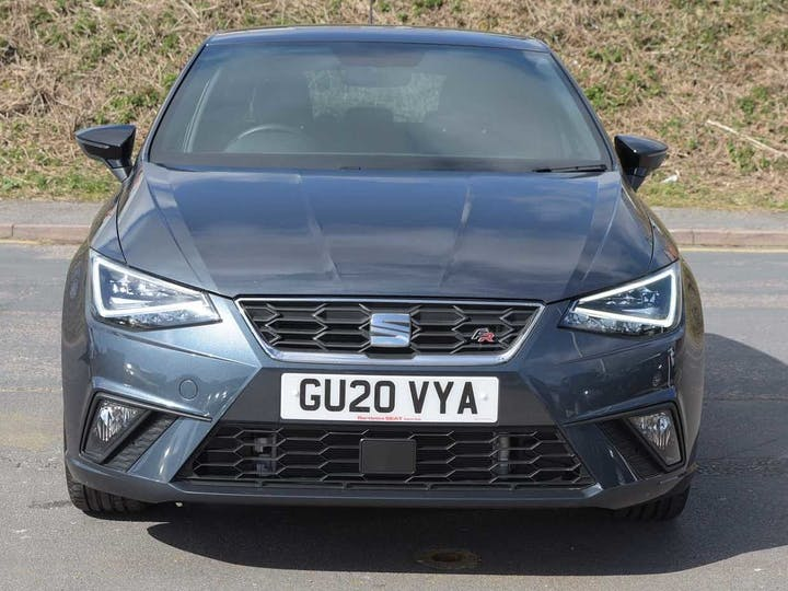 Grey SEAT Ibiza TSI Fr Sport 2020