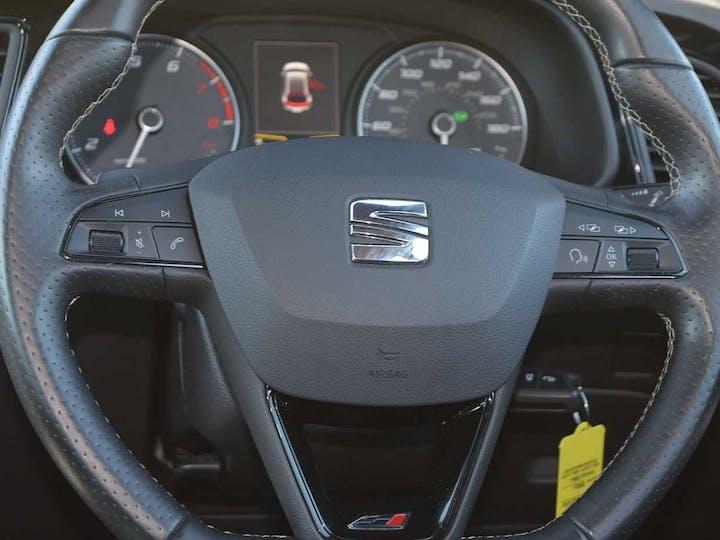 Grey SEAT Leon TSI Cupra Black DSG 2017
