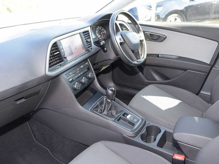 Blue SEAT Leon TSI SE Dynamic Technology 2018